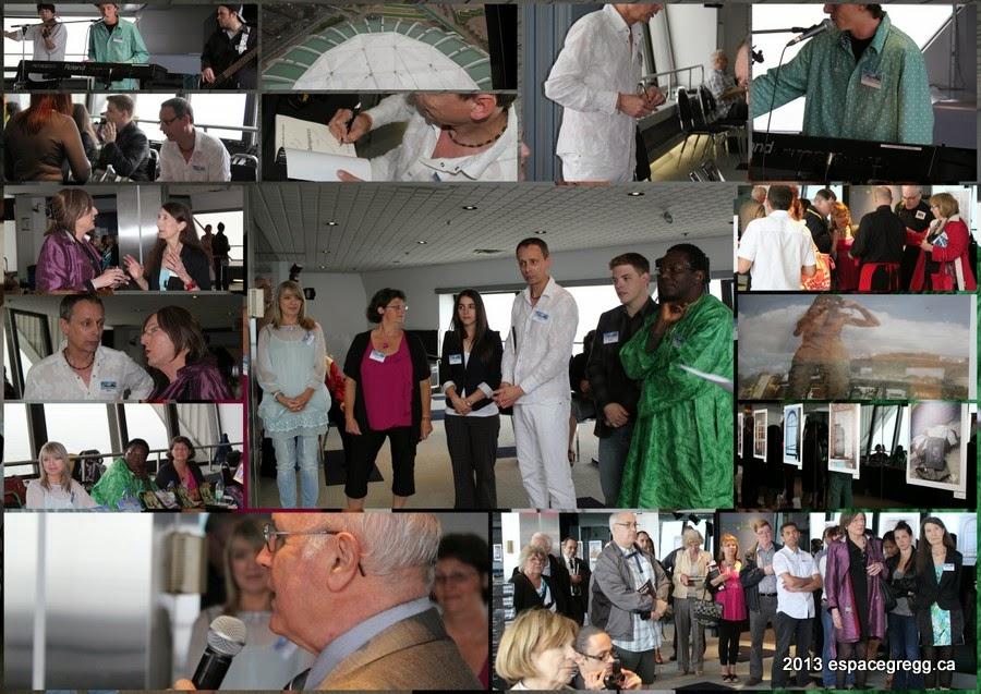 Le 4ième anniversaire des Éditions Dédicaces au sommet de la Tour olympique de Montréal