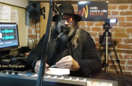 Yvon Jean à la Radio Centre-Ville