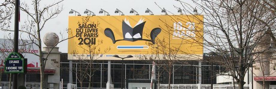 Salon du livre de paris 2011 bandeau